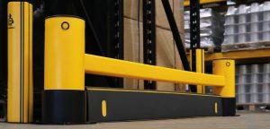 eFlex™ Single RackEnd Barrier with iFlex™ ForkGuard™