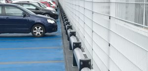 iFlex Single Car Park Barrier